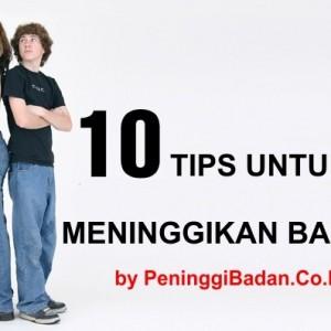 10 Tips Cara Meninggikan Badan Yang Efektif | Cara Menambah Tinggi Badan