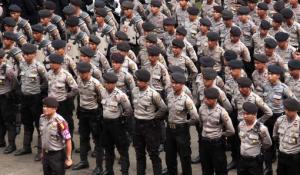 polisi tinggi badan