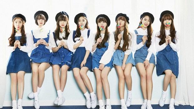 tinggi badan girlband korea cantik